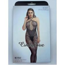 Сексуальный комбинезон черный заказать с доставкой по Украине  sexy-shop.com.ua