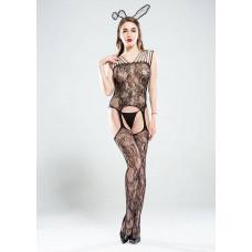 Комбинезон для женщин черный заказать с доставкой по Украине  sexy-shop.com.ua