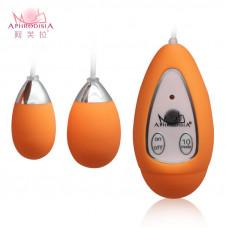 Виброяйцо оранжевое Xtreme 10F Egg заказать с доставкой по Украине  sexy-shop.com.ua